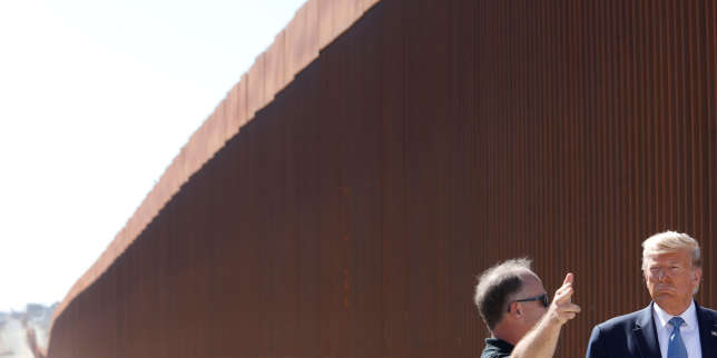Douves, alligators et pics, la frontière rêvée de Trump entre les Etats-Unis et le Mexique