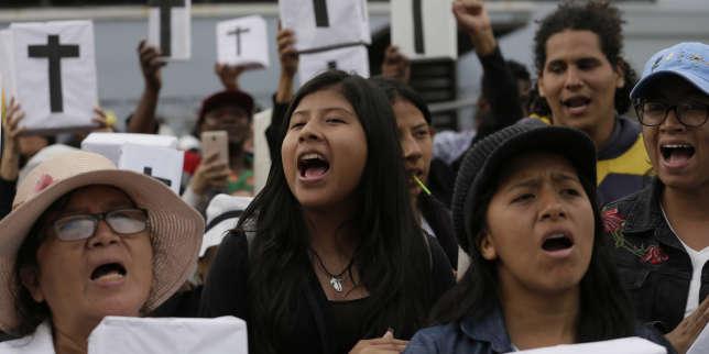 En Equateur, le Parlement vote contre ladépénalisation de l'avortement