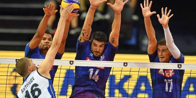 Euro de volley: la France conclut le premier tour en battant l'Italie