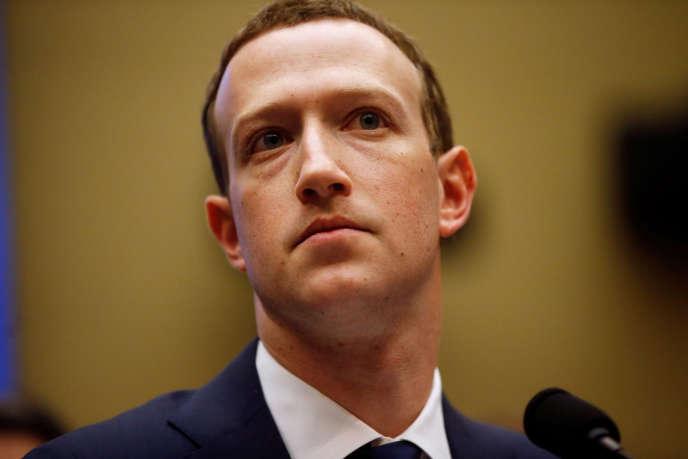 Mark Zuckerberg à Washington, le 11 avril 2018.