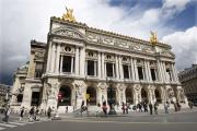 Le Palais Garnier à Paris, en mai 2008.