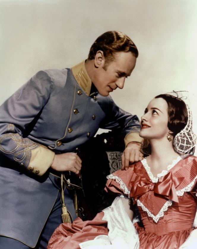 Leslie Howard et Olivia de Havilland (Melanie) dans«Autant en emporte le vent» (Victor Fleming, 1939).