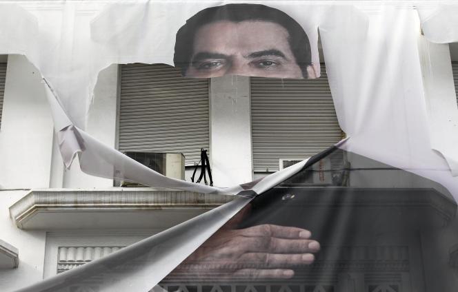 Le 16 janvier 2011, à Tunis.