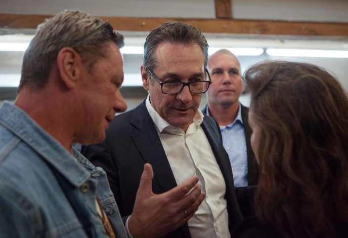 L'ancien patron du FPO, Heinz-Christian Strache, le 19 septembre 2019 à Vienne.