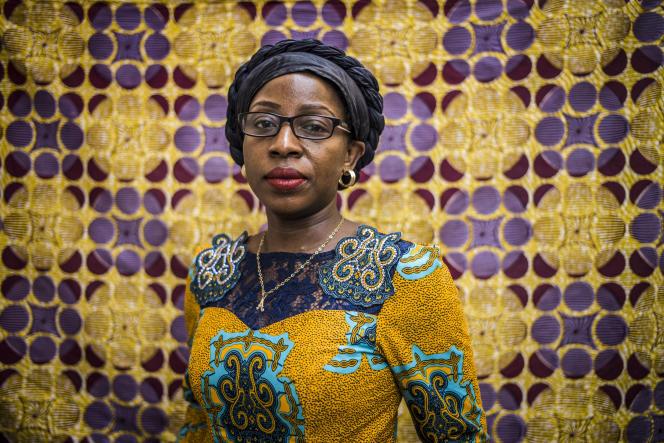 Anny Modi, directrice de l'ONG féministe Afia Mama, en septembre 2019 à Kinshasa.