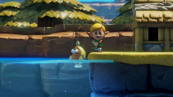 Pêche, services aux habitants, troc d'objets… Link vit sa meilleure vie de «boy next door».
