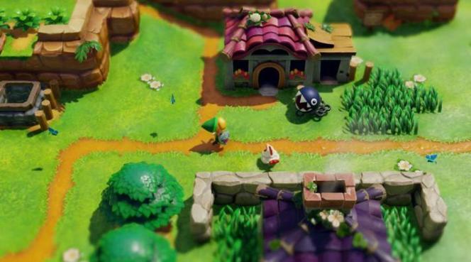 Des poules, des secrets à gogo, des donjons: pas de doute, on est dans un pur Zelda.