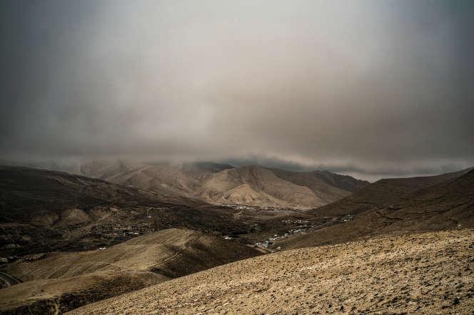 Les monts Sinjar, où des centaines de milliers de yézidis ont trouvé refuge lors de l'attaque du groupe Etat islamique sur la région en 2014.