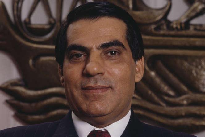 Zine El-Abidine Ben Ali en 1988.