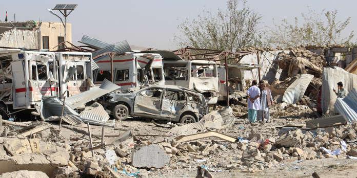 Afghanistan : 15 morts et un hôpital détruit dans un nouvel attentat des talibans