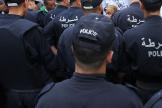 Des policiers algériens à Alger, le 21 juin 2019.