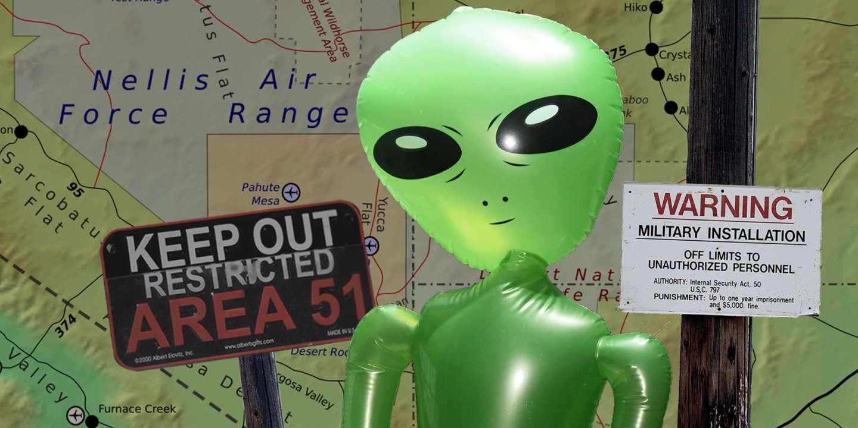 D Ou Vient Le Mythe Des Extraterrestres Dans La Zone 51