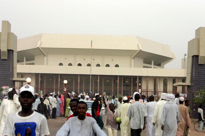 L'Assemblée nationale tchadienne à N'Djamena, en mai 2006.