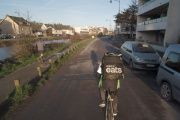 «CashInvestigation» s'attarde longuement sur la situation des livreurs à vélo d'Uber Eats ou de Deliveroo.