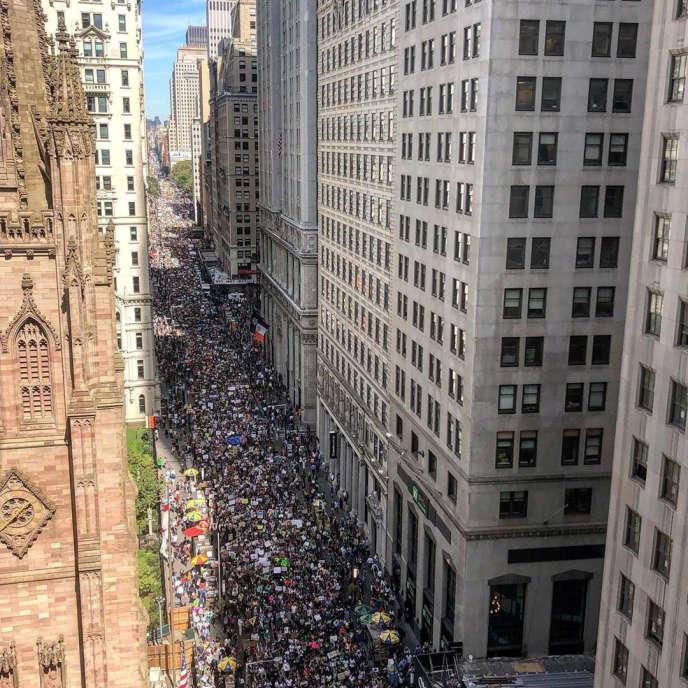 Manhattan, à New York, le 20 septembre.