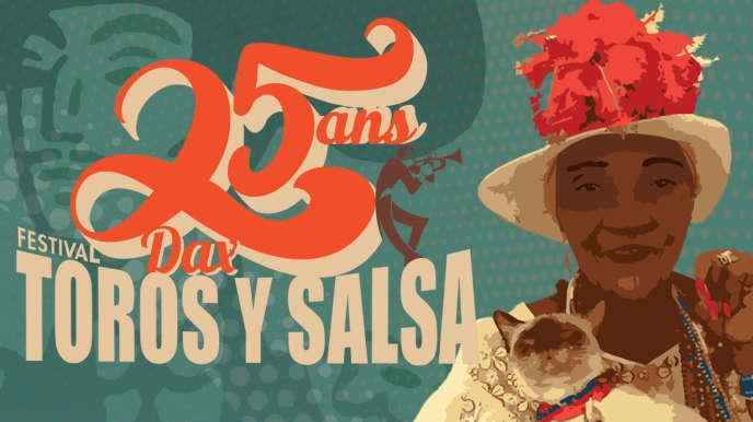 Affiche de la 25è édition du festival Toros y Salsa.