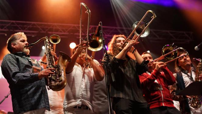 Descarga au festival Toros y Salsa, le 8 septembre 2019 à Dax (Landes).