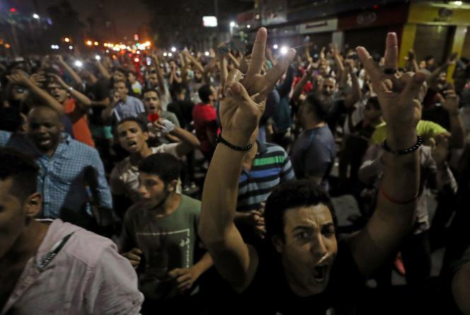 Au Caire, le 21 septembre.