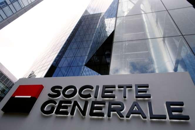 Le siège de Société générale à La Défense (Hauts-de-Seine), en 2015.