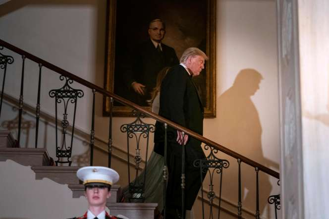 Donald Trump à la Maison Blanche à Washington, le 20 septembre.