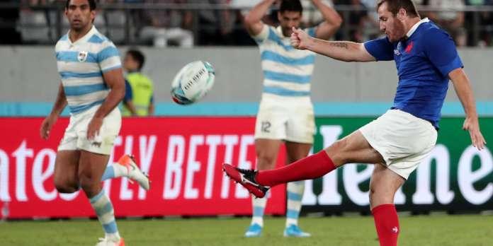Coupe du monde de rugby 2019 : le drop, recours précieux du XV de France
