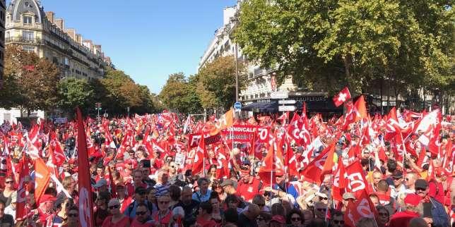 « Retraite universelle de Macron, c'est non » : plusieurs milliers de manifestants à Paris à l'appel de FO