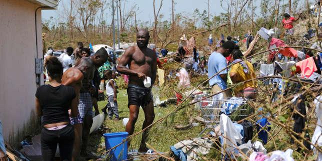 Planète : Toute l'actualité sur Le Monde.fr.La grande peur des Haïtiens des Bahamas