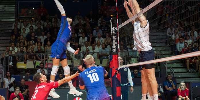 Euro de volley : les Français battent la Finlande et les Allemands surprennent les Néerlandais en 8e