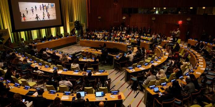 A l'ONU, des jeunes de 150 pays proposent des solutions contre le dérèglement climatique