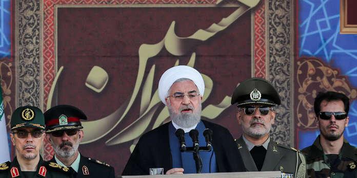 Iran : Rohani affirme que la présence de forces étrangères dans le Golfe accroît « l'insécurité »
