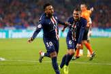Ligue 1: le PSG s'impose de justesse à Lyon, grâce à Neymar (1-0)