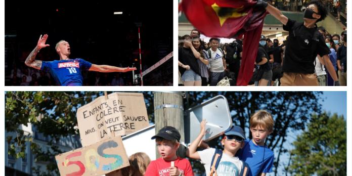 « Marche pour le climat », Egypte, victoires des Bleus… Les cinq infos à retenir du week-end
