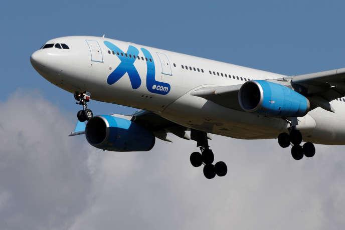 XL Airways a demandéson placement en redressement judiciaire vendredi.