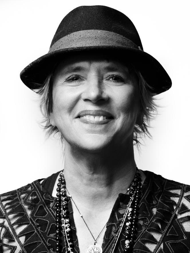 Eve Ensler en octobre 2018, à New York.