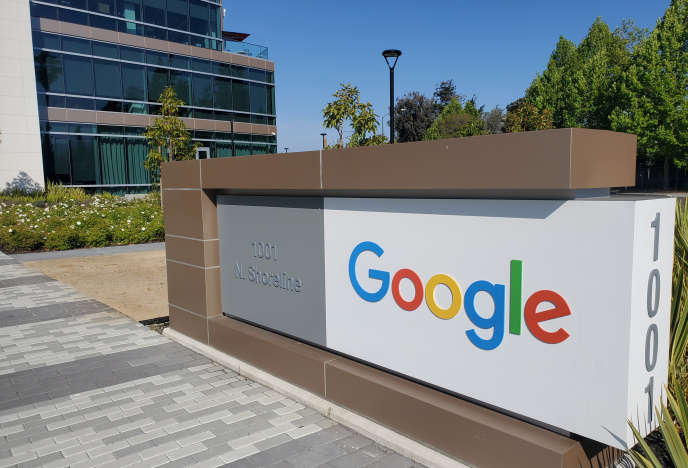 Le siège de Google, à Mountain View (Californie), le 8 mai.