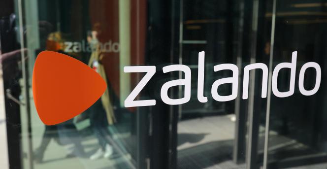 Le nouveau siège de Zalando, à Berlin, en avril.