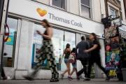 Une agence Thomas Cook, à Londres, en juillet 2019.