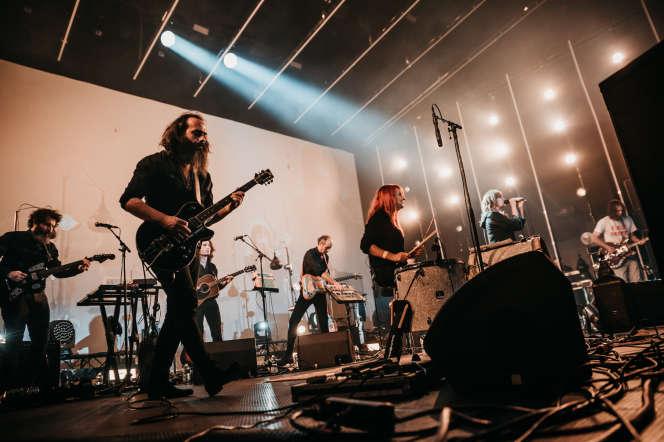 L'Epée en concert, le 21 septembre, au festival Levitation à Angers.