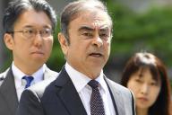 Carlos Ghosn, le 23 mai 2019, à Tokyo.