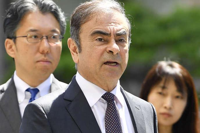 Carlos Ghosn, à Tokyo, le 23 mai.