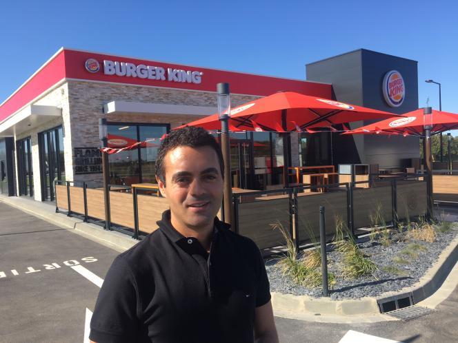 Fadi Menzli, le gérant du Burger King d'Alençon, possède également deux restaurant de la même enseigne au Mans.