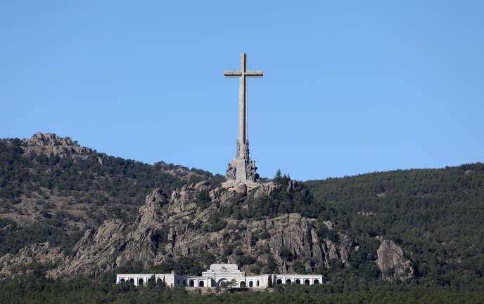 Le site duValle de los Caídos, sur le territoire de San Lorenzo d'El Escorial, à cinquante kilomètres de Madrid, le 24 septembre.