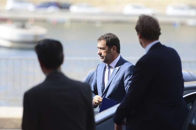 Le ministre de l'intérieur Christophe Castaner, le 23 septembre, à Malte.