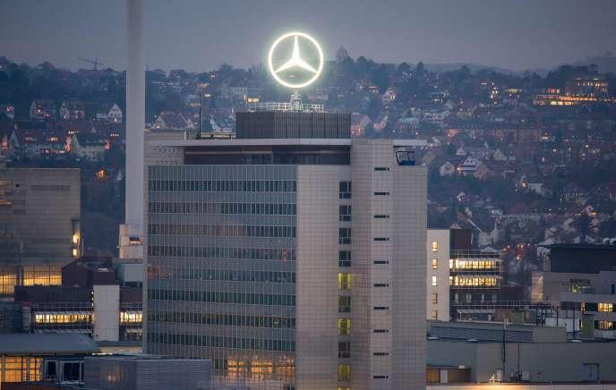 Le siège social de Daimler à Stuttgart (Allemagne).