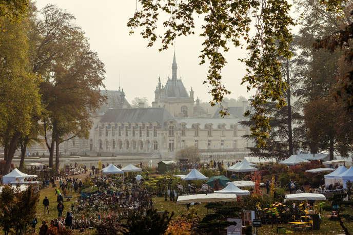 L'édition d'automne des Journées des plantes de Chantilly.