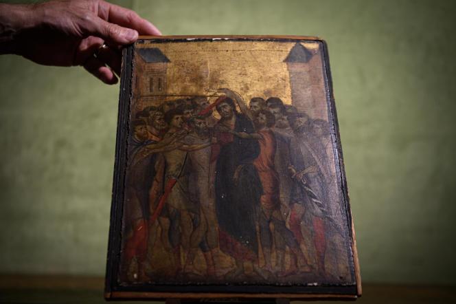 « Le Christ moqué », de l'artiste florentin Cenni di Pepo dit Cimabue.