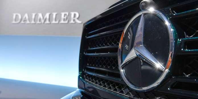 Moteurs truqués : Daimler condamné à payer 870 millions d'euros d'amende