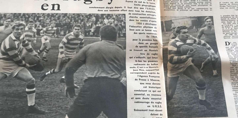 Coupe du monde de rugby 2019 : le rugby soviétique et son aïeul français