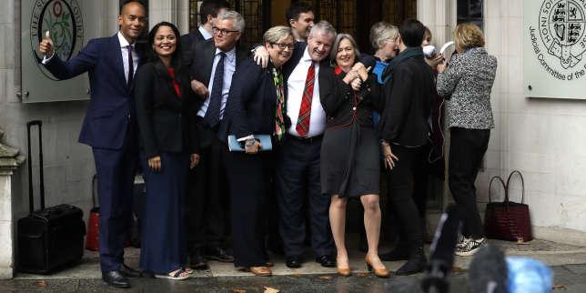 Brexit : «La Cour suprême a décidé que les pouvoirs du gouvernement étaient limités par la souveraineté du Parlement»