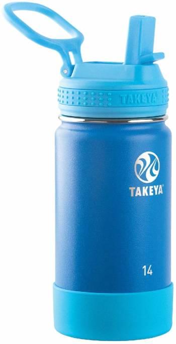 Une gourde plus grosse, pour les enfants plus grands Takeya Actives Kids isotherme avec capuchon à paille (40cl)